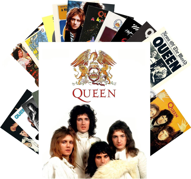 5 Max 80% OFF popular Postcard Set 24 cards QUEEN FREDDIE Posters Rock P Music MERCURY