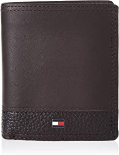 Tommy Hilfiger TH Business N/S Trifold Men Wallets, Card Cases & Money Organizers, Testa Di Moro, Am0Am05009