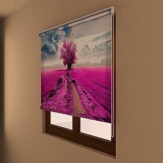 FESTAPRINT Roller Shade - Violet - HeavyMatte Fabric 30