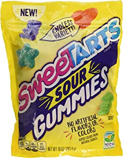 SweeTARTS Chewy Sours Re-sealable Bag, 10 Ounce (Pack of 1)