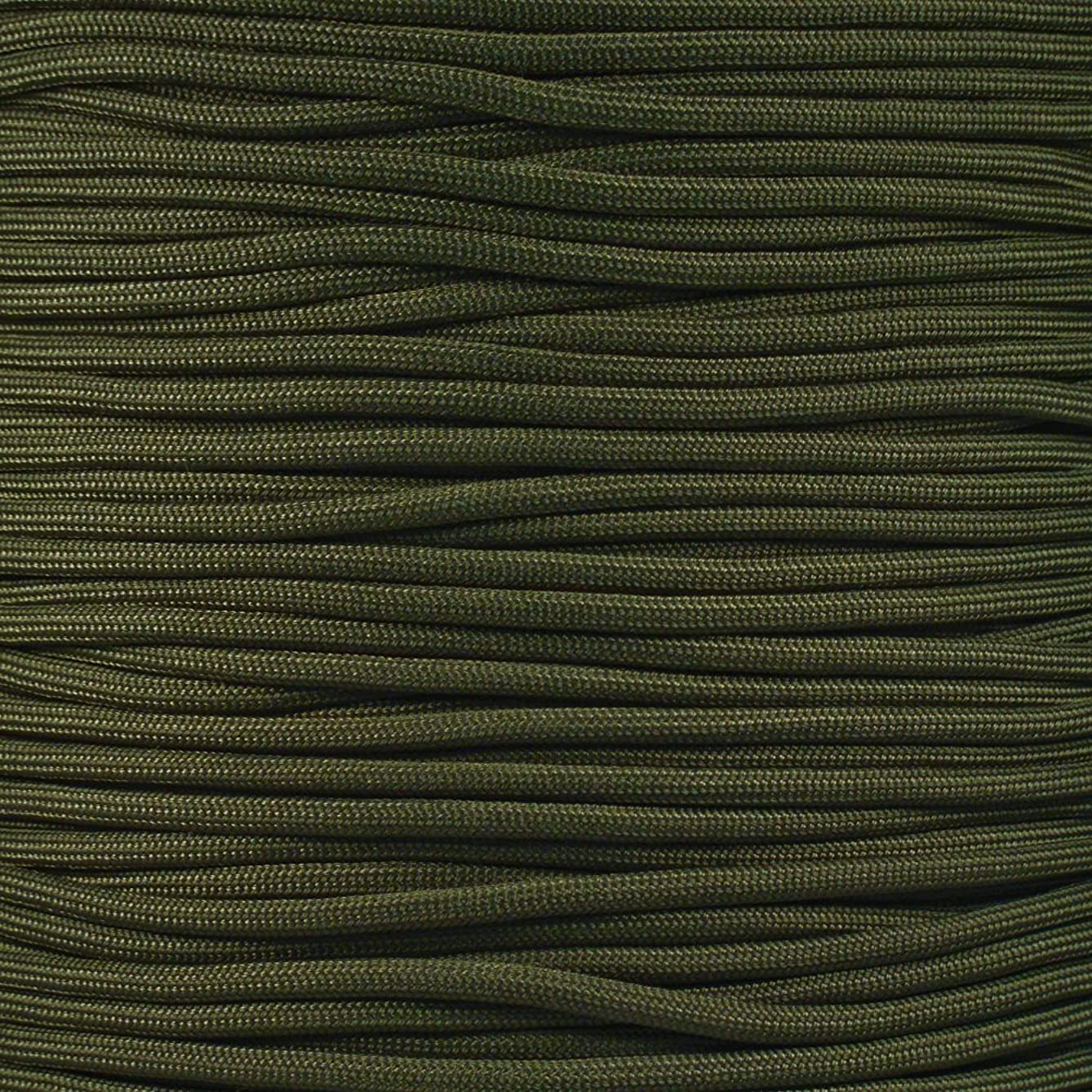 PARACORD PLANET Olive Drab 550 Fire Cord 100'