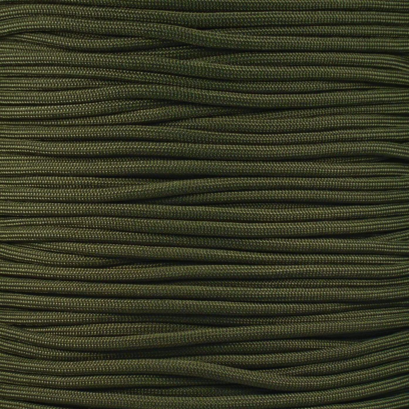 PARACORD PLANET Olive Drab 550 Fire Cord 50'