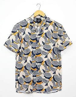 Catch Kısa Kollu Limon Kesikleri Hawaii Gömlek
