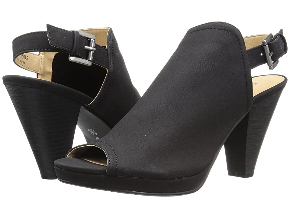 CL By Laundry Wake Up (Black Burnished) High Heels
