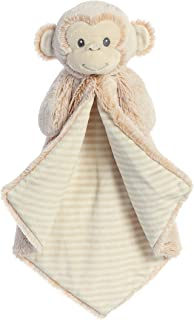 ebba Plush Cuddler Luvster Blanket Marlow Monkey Toy, Brown