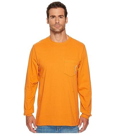 Timberland PRO Base Plate Blended Long Sleeve T-Shirt (Burnt Orange) Men