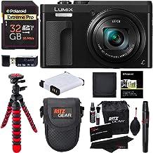 "Panasonic DC-ZS70K Lumix 20.3 Megapixel, 4K Digital Camera, Touch Enabled 3"" 180 Degree Flip-Front Display, 30x Leica DC V..."