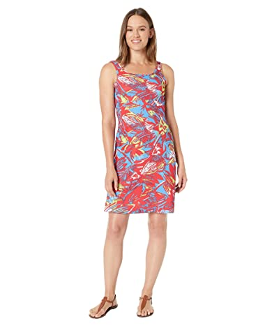 Columbia Freezertm III Dress (Bright Red Shade Leaves) Women