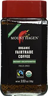 Mount Hagen Organic Coffee -Cafe Decaffeinated -- 3.53 oz