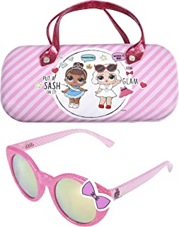 LOL Surprise Kids Sunglasses with Matching Glasses Case...