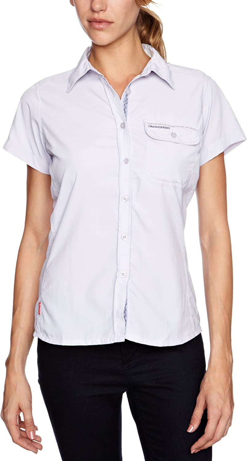 Super beauty product Milwaukee Mall restock quality top Craghoppers Women's NosiLife Short-Sleeved Darla Shirt