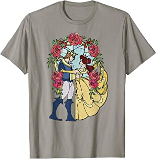 Disney Beauty And The Beast Stained Glass T-shirt