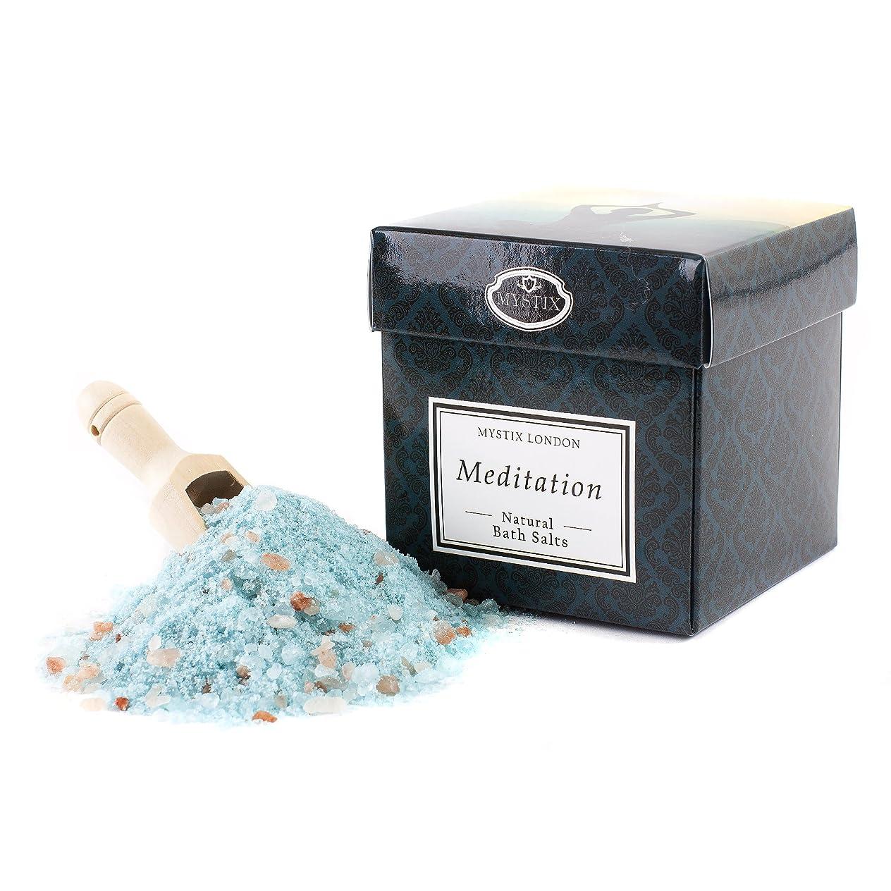 合計バー提供するMystix London | Meditation Bath Salt - 350g
