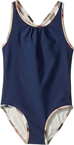Beadnell Solid One-Piece (Little Kids/Big Kids)
