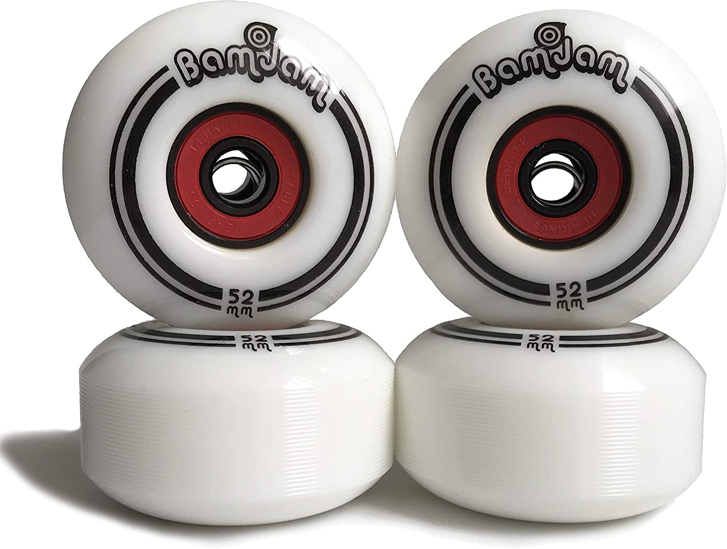 Skateboard Wheels - 4 pcs Set inch Challenge the lowest price of Japan ☆ White Professional Sale SALE% OFF 52mm 2.1