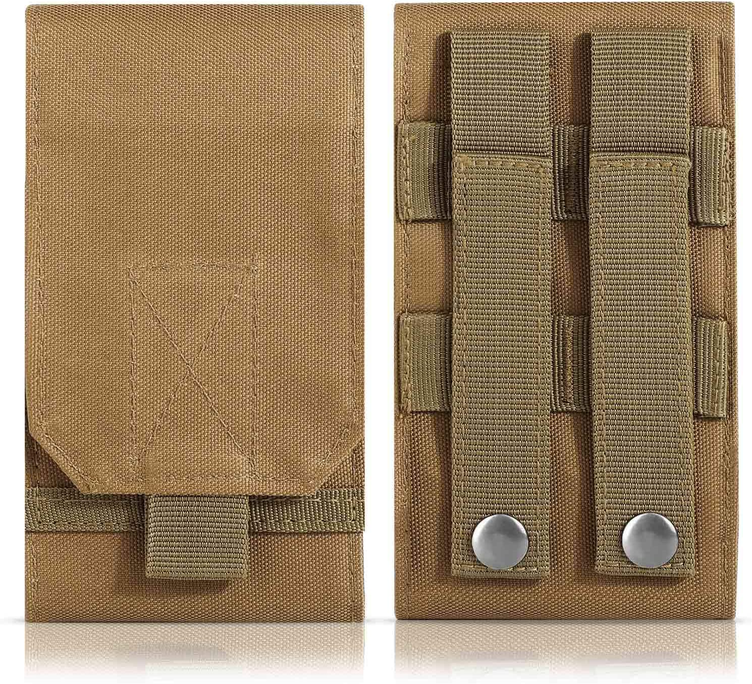 DOUNTO Tactical Brand new Phone Holster Large Carry Belt High material Pouch Molle