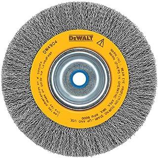 Best DEWALT Wire Wheel for Bench Grinder, Crimped, 6-Inch (DW4905) Review