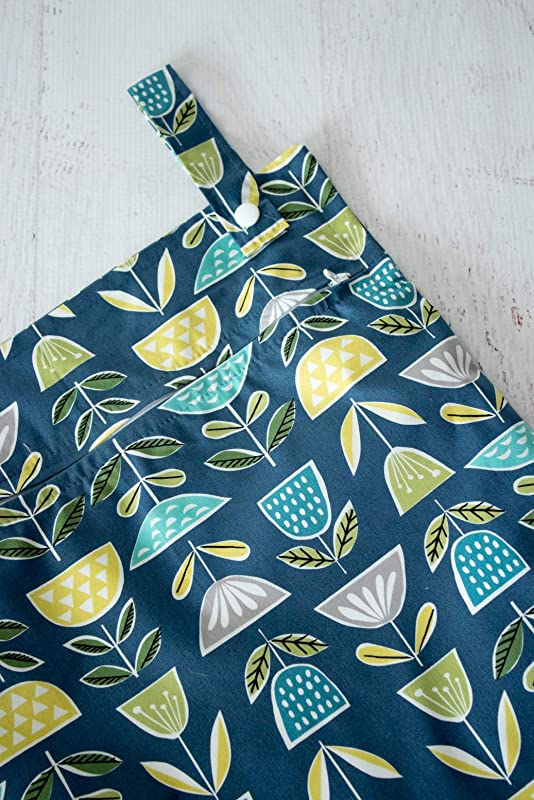 Kitchen Laundry Bag Scandinavian Flowers