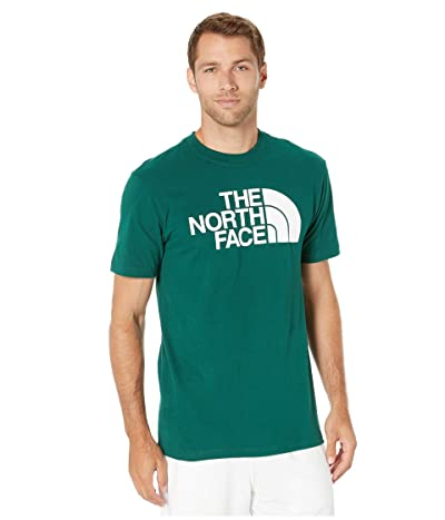 The North Face Short Sleeve Half Dome T-Shirt (Night Green) Men