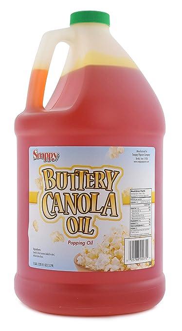 Snappy Popcorn Buttery Canola Oil