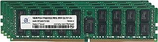 Adamanta 64GB (4x16GB) Server Memory Upgrade Compatible for SuperMicro Storage Blade SBI-7128R-C6 DDR4 2133MHz PC4-17000 ECC Registered Chip 2Rx4 CL15 1.2v DRAM RAM