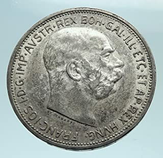 1912 AT 1912 AUSTRIA KING FRANZ JOSEPH I Aquila Genuine A coin Good Uncertified