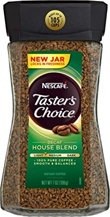 Amazon.com : Nescafe Tasters Choice Instant Decaf Coffee, 7-Ounce ...