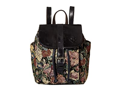Patricia Nash Aberdeen Backpack (Woven Floral) Backpack Bags