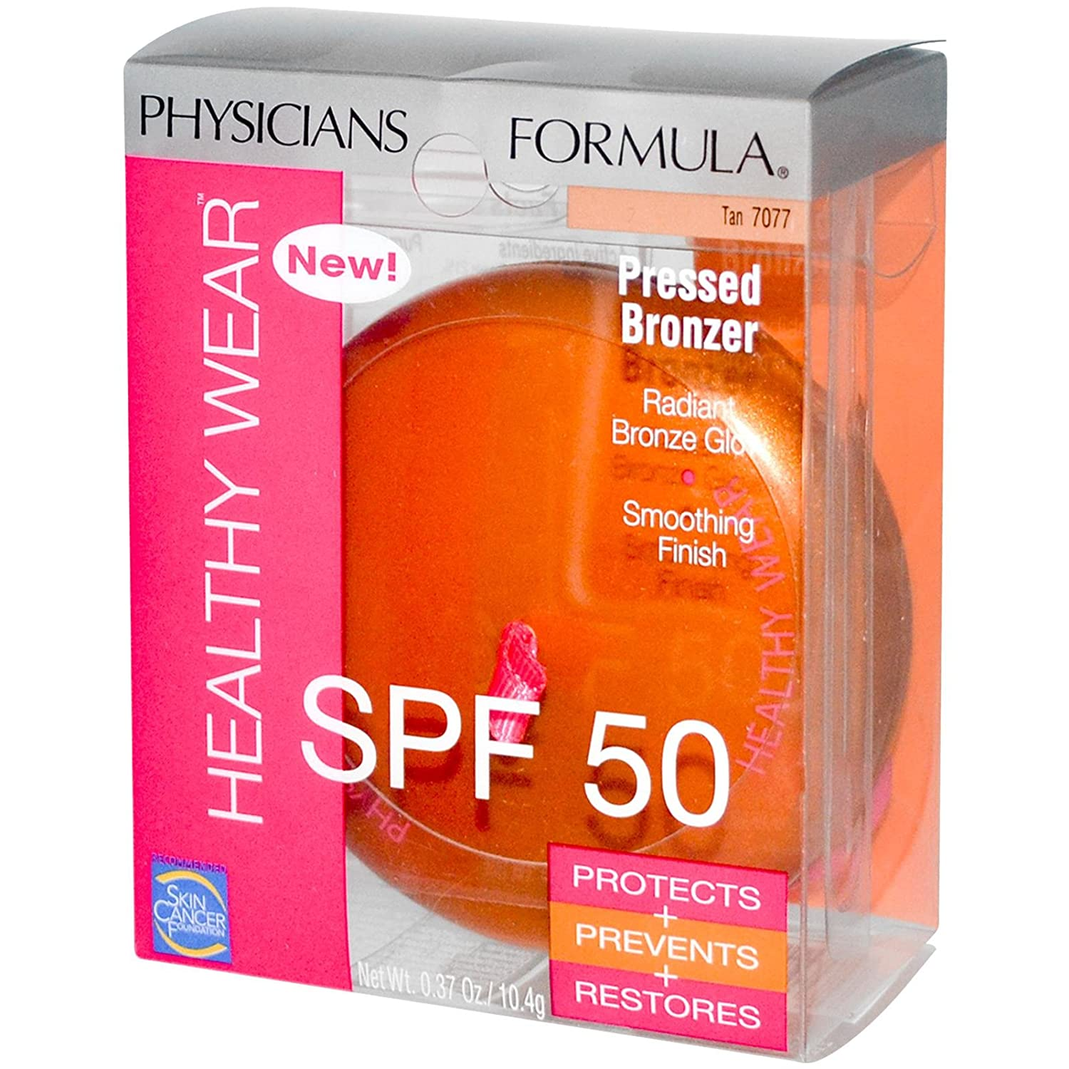 Physicians Formula Tulsa Mall Healthy Wear Pressed Tan SPF 707 All items in the store 50 Bronzer