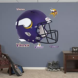 FATHEAD NFL Minnesota Vikings Helmet Wall Decal