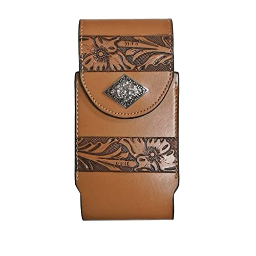 hot sale online 61068 17ec0 Western Leather Cell Phone Cases: Amazon.com