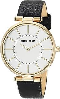 Anne Klein Women's Leather Strap Watch