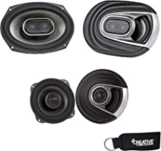 Polk Audio for Dodge Ram Truck 1994-2011 Speaker Bundle Polk MM692 6X9 and MM522 5.25