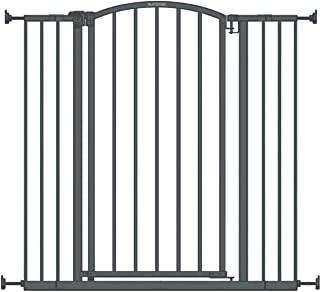 """Best Summer Extra Tall Decor Safety Baby Gate, Gray – 36"""" Tall, Fits Openings of 28"""" to 38.25"""" Wide, 20"""" Wide Door Opening, Baby and Pet Gate Review"""