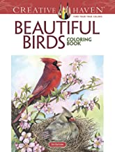 Creative Haven Beautiful Birds Coloring Book (Creative Haven Coloring Books)