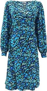 GANNI Luxury Fashion Womens F4038AZUREBLUE697 Light Blue Dress   Fall Winter 19