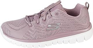 Skechers 12615/LAV Graceful-Get Connected - Zapatillas deportivas para mujer, color morado