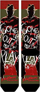 Bioworld Nightmare on Elm Street Freddy Krueger Sublimated Socks Standard