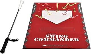 Rukket Baseball/Softball Swing Trainer | Field Batting/Hitting Practice Training Aid | Stick Bat with Aim Trainer Mat & Home Plate Bases Hit-A-Way