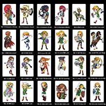 NFC Cards for The Legend of Zelda Breath of The Wild Botw Switch Wii U, 24pcs Game Cards for Nintendo Switch/Switch Lite/W...
