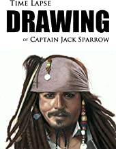 Clip: Time Lapse Drawing of Captain Jack Sparrow