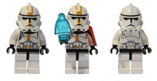 LEGO Star Wars - 3 Clone Army - EP3 Clones with Palpatine Hologram
