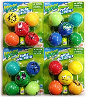 Koosh Galaxy Ball Refill Pack Bundle - 20 Balls Total - Assorted Styles