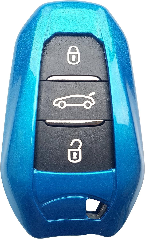 Ck Citroen Keyless Abs Auto Schlüssel Hülle Key Cover Elektronik