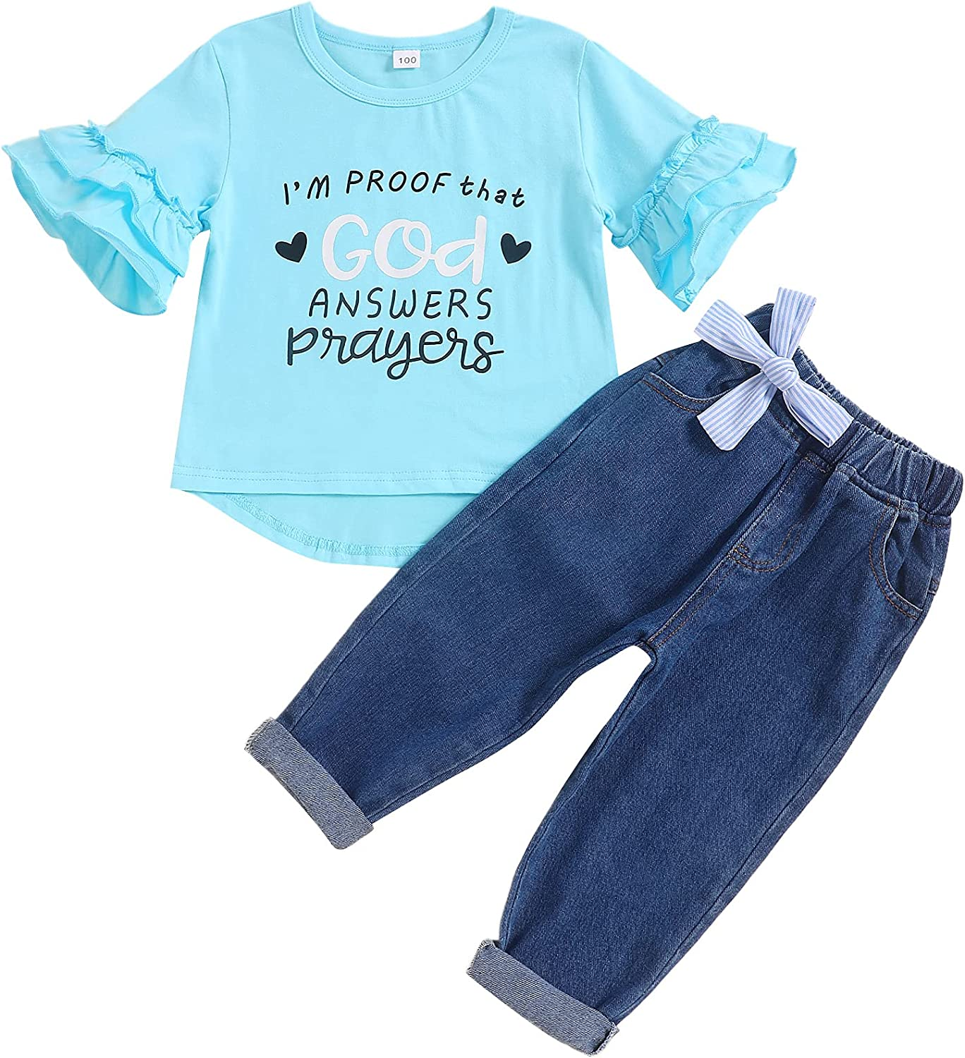 Credence Department store Toddler Girl Clothes Outfits Little Sleeve Short T-S Ruffle