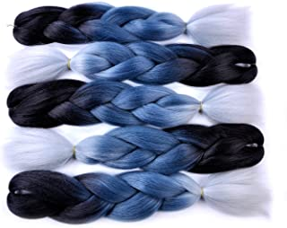 Best blue white ombre hair Reviews