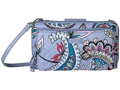 Vera Bradley Iconic Deluxe All Together Crossbody (Makani Paisley) Cross Body Handbags