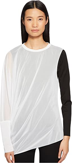 Girello Sheer Overlay Top
