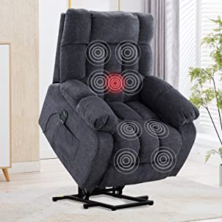 CANMOV Power Lift Massage Recliner Chair with Heat & Vibration for Elderly, Heavy..