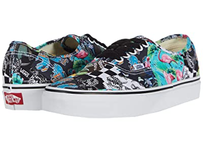 Vans Authentictm ((Vans Mash Up) Multi Floral/True White) Skate Shoes